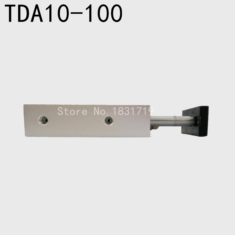 AirTAC styp TDA10-100 biaxial cylinder TDA10*100 double rod cylinder pneumatic components  cylinder 10mm bore 100mm strokeAirTAC styp TDA10-100 biaxial cylinder TDA10*100 double rod cylinder pneumatic components  cylinder 10mm bore 100mm stroke