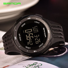 SANDA Sport Wrist Watch Men Watches Top Brand Luxury Famous Electronic LED Digital Wristwatches For Male Clock Relogio Masculino