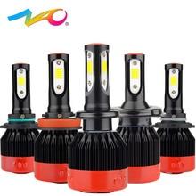 NAO H4 led h7 led bulb H1 led font b lamp b font automobiles h11 12V