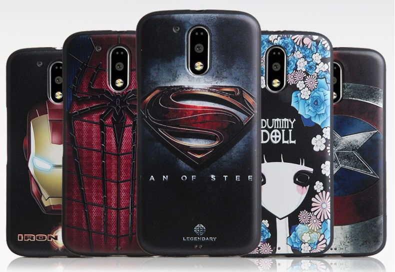 great fit fdd13 2ad8b US $3.2 |New Arrive For Motolora Moto G4 Plus Case Cover 3D Relief painting  soft Silicon Back Cover Case for Moto G4-in Half-wrapped Cases from ...