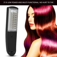 Electric Vibration Wireless Anti Hair Loss Massage Comb Portable Hair Growth Comb Hair Brush Relaxation Health Care