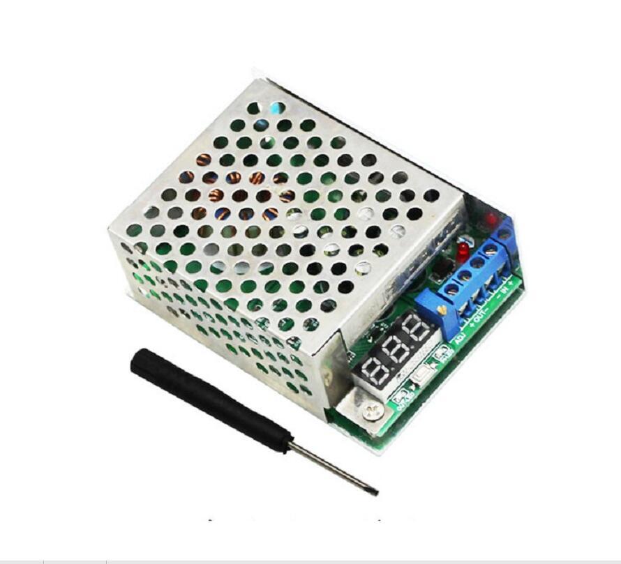 10A Step Down DC Buck Voltage Converter DC3.5~30V Regulator LED Volt