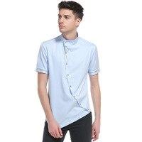 2018 T Shirts Men's New Arrival Summer Style Short Sleev Men Fashion oblique fashion