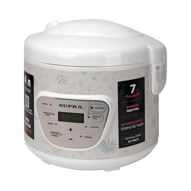 Multi Cooker SUPRA MCS-4704 multivarka multivarki cooker multicookings multicooker