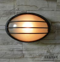 Led Waterproof Outdoor Wall Lamp Courtyard Modern Brief Fashion Balcony Lights Rustic Table Lamp Moisture Proof