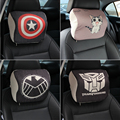 Cartoon Creative Cute Car Headrest Car Neck Pillow Cotton Memory Cotton Car Seat Cushion