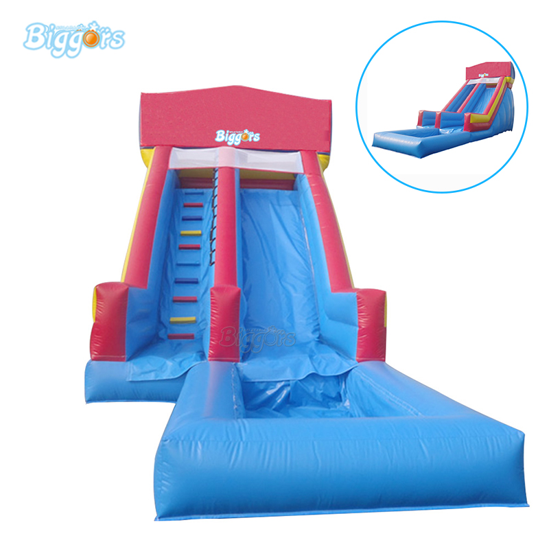 Commercial grade giant kids and adult Inflatable pool slide inflatable water pool slide with blowers