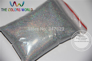 Image 1 - TCA100 0.05mm 002 Laser  Silver Color Glitter Powder for nail,tattoo art decoration Free ship Wholesale DIY dust