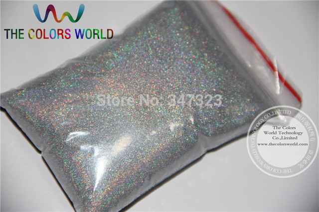 TCA100 0.05mm 002 Laser  Silver Color Glitter Powder for nail,tattoo art decoration Free ship Wholesale DIY dust