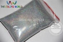 TCA100 0.05mm 002 Laser Zilver Kleur Glitter Poeder voor nail, tattoo art decoratie Gratis schip Groothandel DIY dust