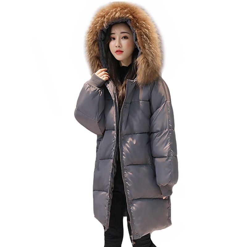 4d9039a3a 2019 New Loose Design Winter Jacket Women Hooded Coat Female Jacket ...