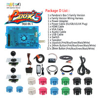 Pandora Box 5 960 In 1 Family Version Control Accessories Diy Arcade Joystick Buttons HDMI VGA