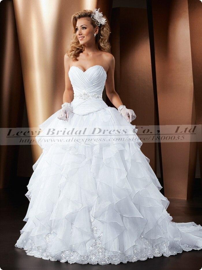 vestido de noiva 2015 princesa vestidos de novia de lujo vintage