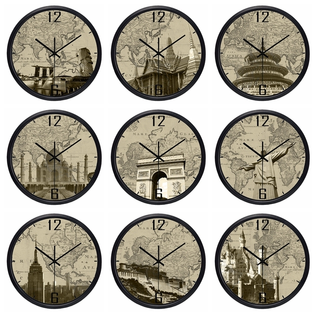 Map clock edi maps full hd maps world map wall clocks ebay world map clock beautiful new in packaging great gift any time house shaped map clock personalized butler and hill clocks house gumiabroncs Image collections
