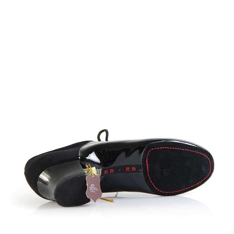 الرقص الأحذية المستوردة الطلاء يستخدم قاعة اللاتينية أحذية الرقص عالية الجودة مزيج مثالي جلد البقر لينة وحيد ارتداء عدم الانزلاق 449