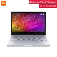 Оригинальный 2019 Xiaomi ноутбук Air 12,5 ''Intel Core M3-8100Y двухъядерный ноутбук 4 ГБ 128 ультратонкий Windows10 1080 P HD компьютер