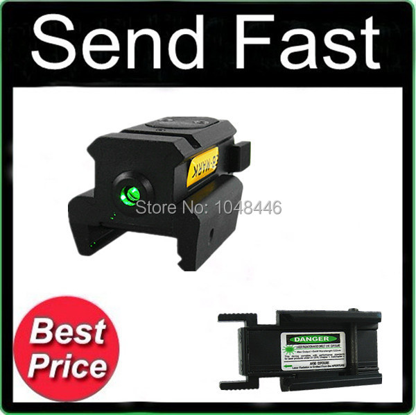 ФОТО Send Fast Sporting Top 532nm Optics-precision Green Laser Dot Sight Fit 20mm Weaver Rail Mount
