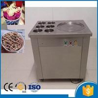 Fry ice cream machine fried ice roll single pan machine flat pan rolled fried ice machine ice cream rolls freezer machine
