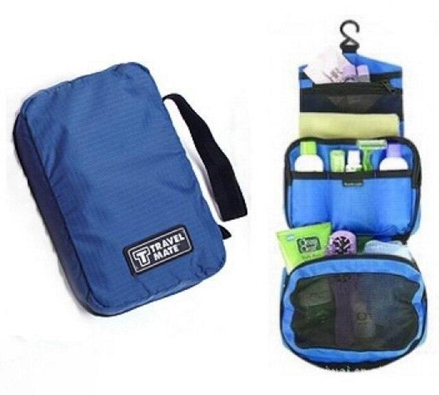 Kullanışlı Seyahat Kozmetik Tuvalet çanta tutucu Güzellik Yıkama çanta düzenleyici Asılı Polyester saklama çantası
