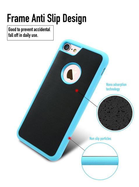 Anti Gravity Selfie Phone Case – For iPhone 7 6 6S Plus 5S Samsung S8 S7 S6 Edge Note 5