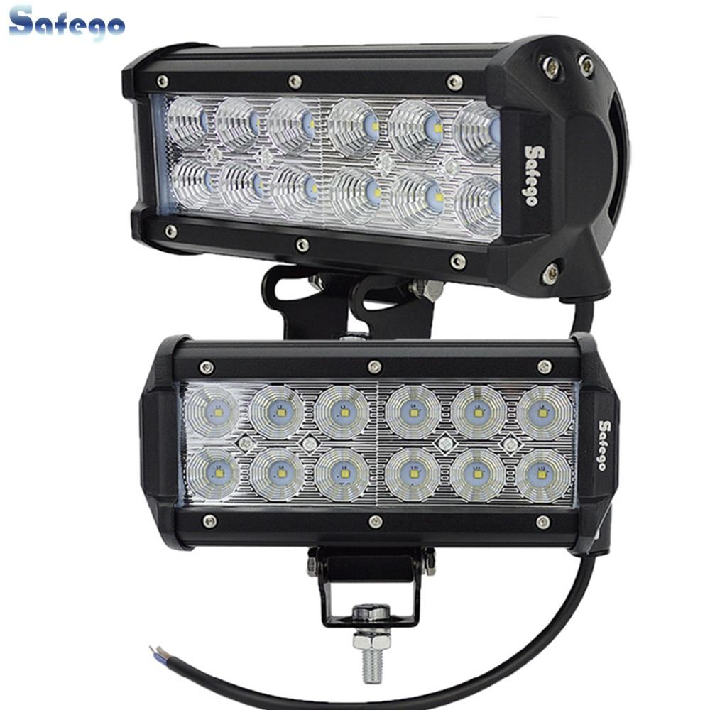 2 pcs 36 W LED CAHAYA Kerja BAR UNTUK PERAHU SUV OFF ROAD ATV 4x4 - Lampu mobil - Foto 1