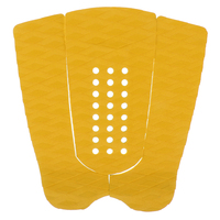 New Set Of 3pcs Surfboard Traction Tail Pads Surfing Surf Deck Grips Yellow Water Sports Surfing