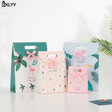 BXLYY New Flamingo Gift Bag Flip Candy Self-adhesive Cordless 2019 Year Decoration Birthday Party Supplies .7z
