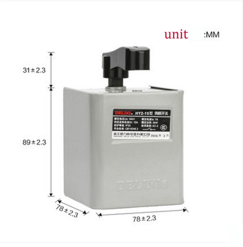 HY2-15Reversing switch:380V 220V 15A   lzx