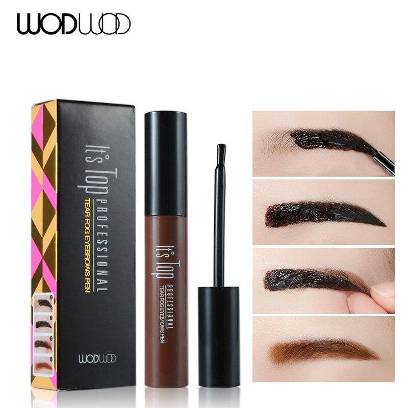 Tattoo eyebrow mascara tint wodwod 3d brand long lasting for Tattooed eyeliner brand