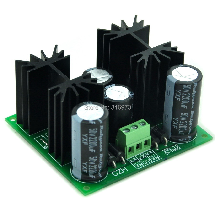 Positive And Negative +/-24V DC Voltage Regulator Module Board, High Quality.