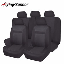 flyingBanner Polyster+Fashion Jacquard Full Car Seat Cover Set Universal Fit Most Interior Accessories Automobiles Covers