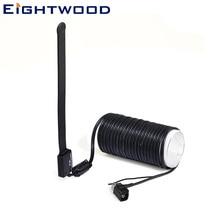 Eightwood, автомобильная цифровая ТВ Активная антенна, Двухдиапазонная VHF-H/усилитель УВЧ 20 дБи с Fakra A Jack, разъем под прямым углом