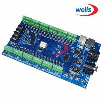 Digital tube Display 36CH DMX512 Decoder controller, DC5~36V MAX 3A XRL 3pin controller,RGB controller