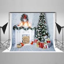 Kate 10x10ft Christmas Photography Backgrounds 300cm Christmas Decorations For Home  Box Fireplace Tree Studio Background new arrival background fundo doors open flowers 300cm 200cm about 10ft 6 5ft width backgrounds lk 2673