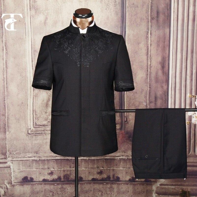 2016 été manches courtes blazer veste en gros vêtements blazer - Vêtements pour hommes - Photo 4