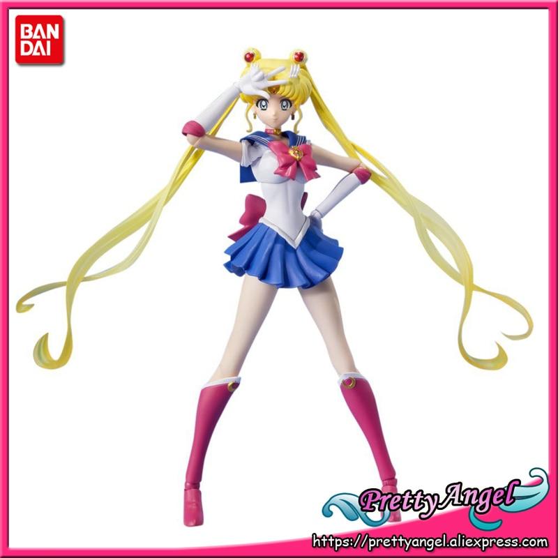 PrettyAngel - Genuine Bandai Tamashii Nations S.H.Figuarts Pretty Guardian Sailor Moon Action Figure prettyangel genuine original banpresto girls memories pretty guardian sailor moon sailor pluto action figure