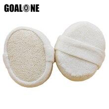 GOALONE Natural Loofah Sponge Soft Bath Body Exfoliating Back Scrubber Massage Shower Luffa Bathroom Accessories