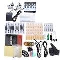 Solong Tattoo Kit 2 Metralhadoras Poder Agulhas Abastecimento de Escolher O Poder Duradouro Cabo Contato Máquina e Caixa De Energia