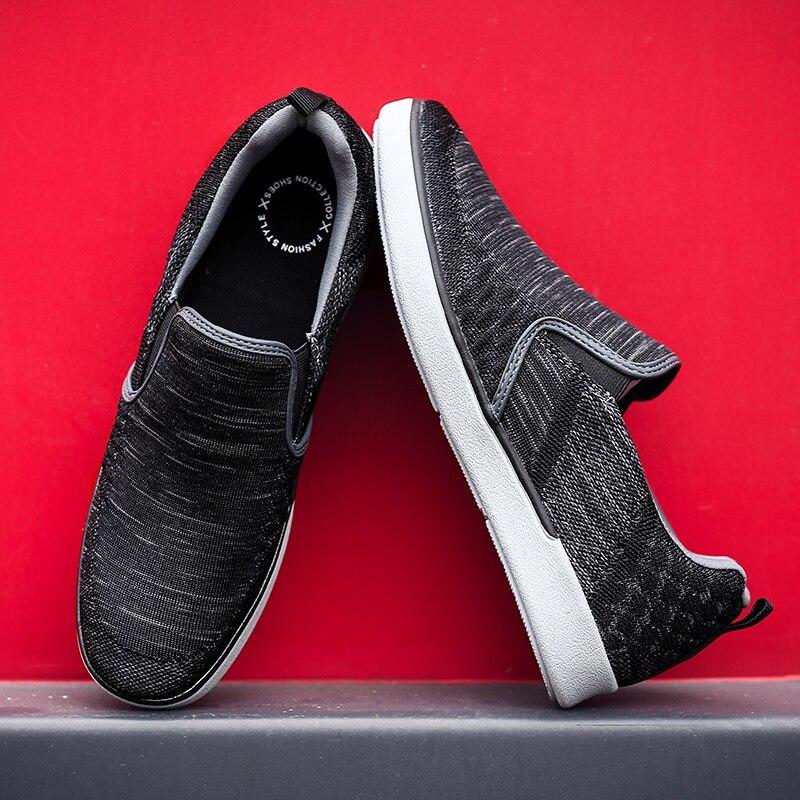 CYYTL Performance Men's Loafers Soft Flyknit Slip-On Walking Shoes Spring Casual Male Sneakers Zapatos de Hombre Erkek Ayakkabi (15)