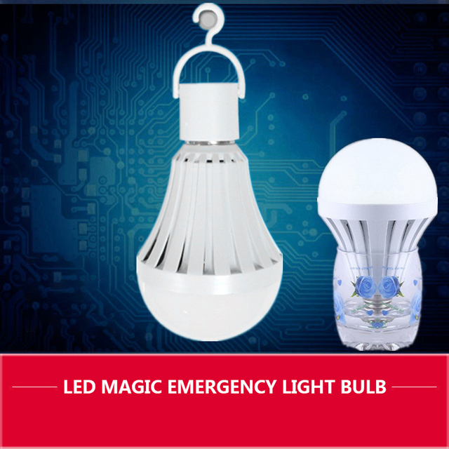 Cheap Price Emergency Wireless Led Light Bulb Led Bulb e27 With Induction / Water Water Supply Power Function 7w / 12w