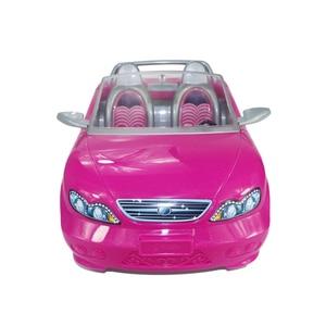 Image 2 - 1/6 Pop Auto 2 Zetels Roze Convertible Voor Barbie Pop Accessoires Klassieke Speelgoed Cadeau Voor Meisjes Kids Niet Batterij Aangedreven
