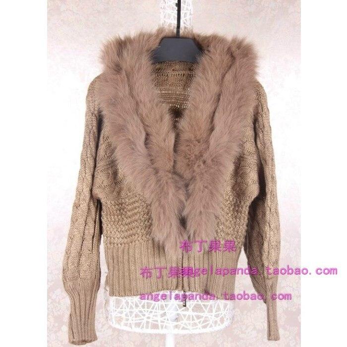 2014 Canada Autumn And Winter Rabbit Fur Large Fur Collar