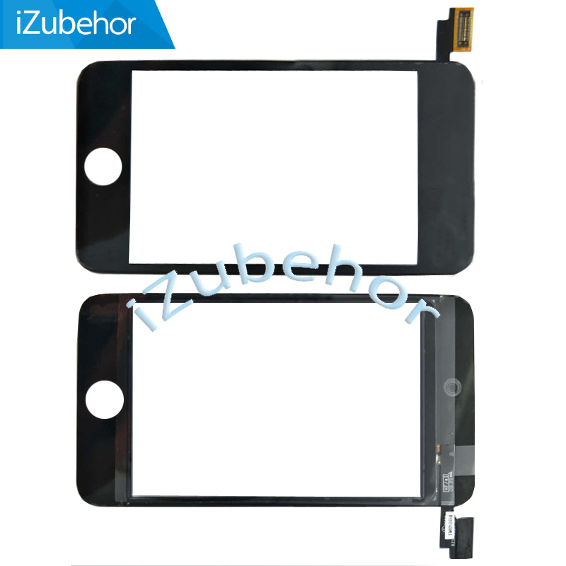 100% Warranty touch screen Digitizer For iPod Touch 2 touch panel by free shipping