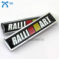 2 Pcs Side Door Sticker For RALLIART Logo For Mitsubishi ASX Lancer Pajero Outlander L200 EVO