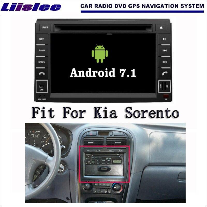 Liislee Android 7.1 2 г Оперативная память для Kia Sorento 2010 ~ 2012 автомобилей Радио Аудио Видео Мультимедиа dvd-плеер WI-FI DVR GPS Navi навигации