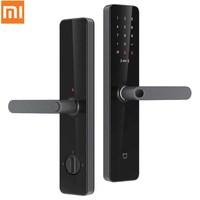 Xiaomi Mijia Smart Door Lock Smart Fingerprint lock Password NFC Bluetooth Unlock Detect Alarm Work Mi Home App Control Newest|Electric Toothbrushes| |  -