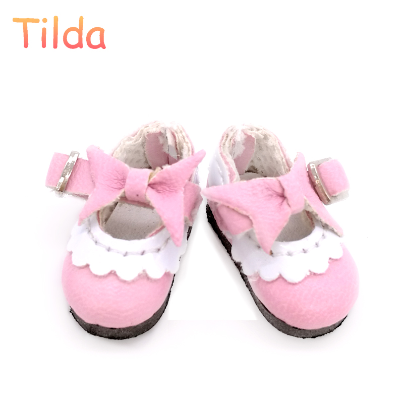 Tilda 2.5 cm Doll Shoes for Pukifee Lati Yellow Dolls Toy,1/8 Slippers for Blyth Azone Obitsu Licca BJD Doll Shoes Accessories handmade leopard doll shoes doll accessories for blythe licca azone dal momoko lati jb toys girl play house free shipping