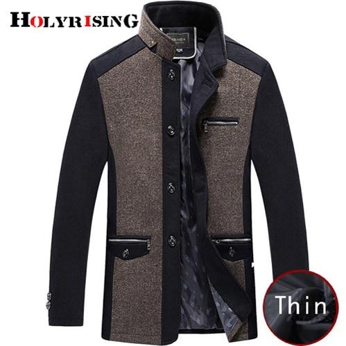 Holyrising Men Coat Winter...