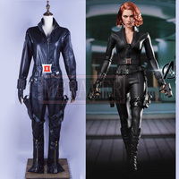 New Marvel The Avengers Black Widow Cosplay Costume Black Widow Natasha Romanoff Cosplay Costume Adult Superhero Costume