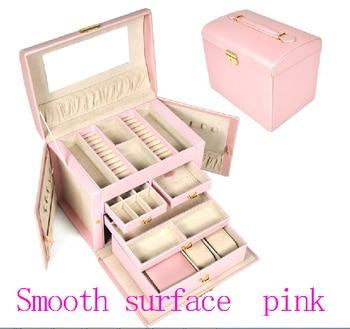 Large luxury  Pink jewelry box